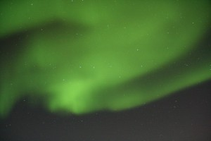 aurora borealis door Ursa major