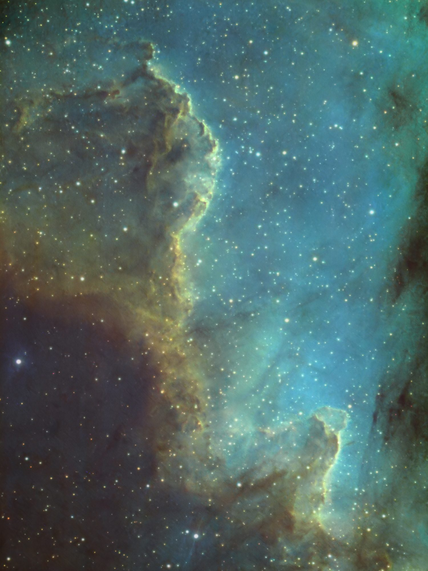 Cygnus Wall in NGC7000