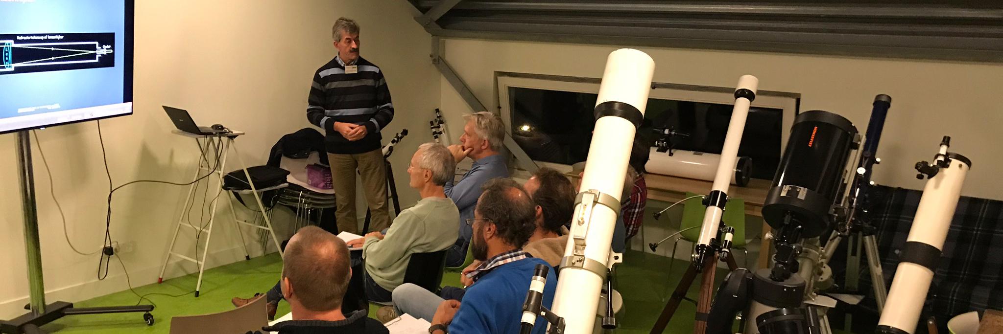 Workshop Telescoop-gebruik op 28 februari